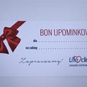 Bony prezentowe dla Pacjentów ECM Lifeclinica!