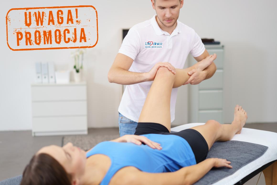 Promocja na zabiegi rehabilitacyjne w ECM Lifeclinica!